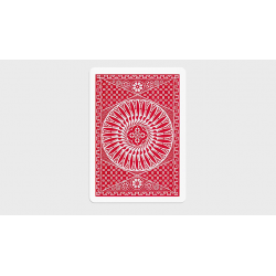 Tally Ho Circle Back Gaff Pack Red (6 Cards) by The Hanrahan Gaff Company wwww.magiedirecte.com