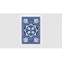Tally Ho Fan Back Gaff Pack Blue (6 Cards) by The Hanrahan Gaff Company wwww.magiedirecte.com