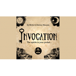 Invocation (Gimmicks and Online Instructions) by Michel and Esteban Manazza - Trick wwww.magiedirecte.com