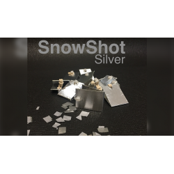 SnowShot SILVER (10 ct.) by Victor Voitko (Gimmick and Online Instructions) - Trick wwww.magiedirecte.com