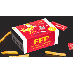 Ketchup and Fries Combo (1/2 Brick) Playing Cards by Fast Food Playing Cards wwww.magiedirecte.com