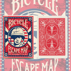 Bicycle Escape Map Deck by USPCC wwww.magiedirecte.com