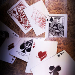 Nautical Playing Cards (Blue) by House of Playing Cards wwww.magiedirecte.com
