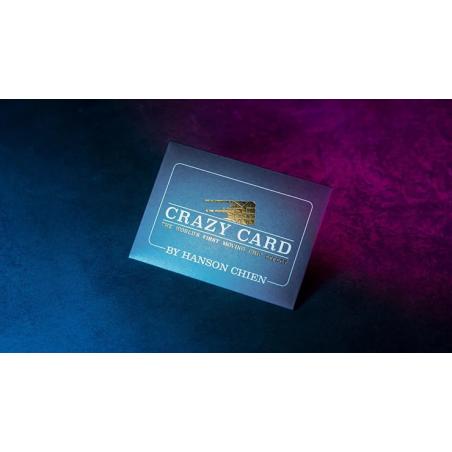 CRAZY CARD - Hanson Chien wwww.magiedirecte.com
