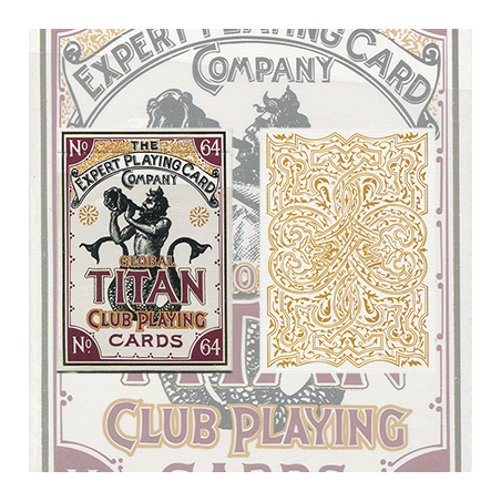 Global Titans (White) from The Expert Playing Card Co. wwww.magiedirecte.com
