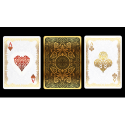 Bicycle Gold Deck by US Playing Cards wwww.magiedirecte.com