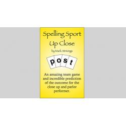 SPELLING SPORT CLOSE -UP by Mark Strivings - Trick wwww.magiedirecte.com