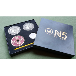 N5 RED Coin Set by N2G - Trick wwww.magiedirecte.com