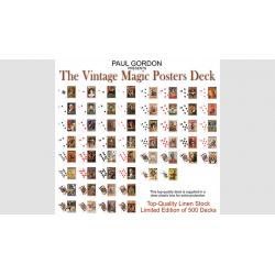 Vintage Magic Posters Deck from Paul Gordon - Trick wwww.magiedirecte.com