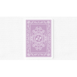 Black Roses Lavender (Marked) Edition Playing Cards wwww.magiedirecte.com