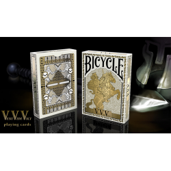 BICYCLE VENIVIDIVICI METALLIC - Collectable Playing Cards wwww.magiedirecte.com