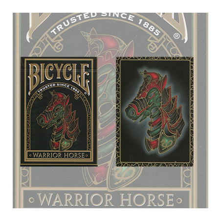 Bicycle Warrior Horse Deck by USPCC wwww.magiedirecte.com