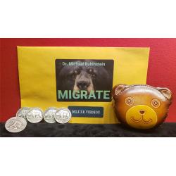 MIGRATE DLX COIN by Dr. Michael Rubinstein - Trick wwww.magiedirecte.com