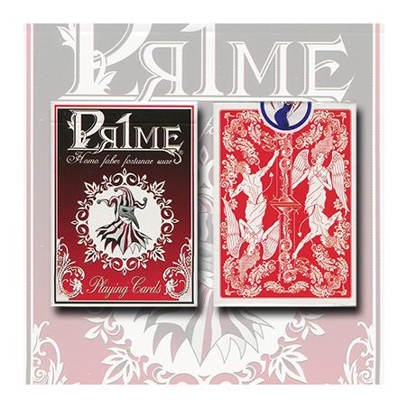 Pr1me Series001 Deck (Red) by Max Magic & stratomagic wwww.magiedirecte.com