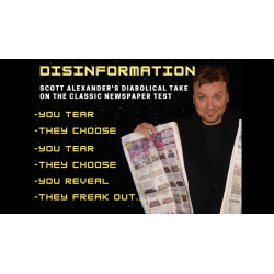 DIS INFORMATION by Scott Alexander & Puck - Trick wwww.magiedirecte.com