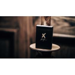 X Deck (Black) Playing Cards by Alex Pandrea wwww.magiedirecte.com