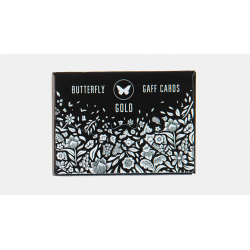 Gaff pack for Butterfly Playing Cards Marked (Black and Gold) by Ondrej Psenicka wwww.magiedirecte.com