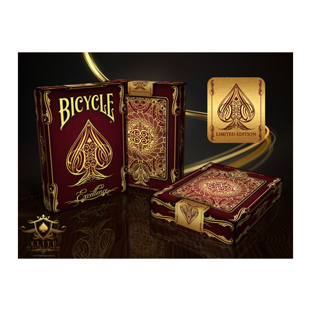 Bicycle Excellence Deck by US Playing Card Co. wwww.magiedirecte.com