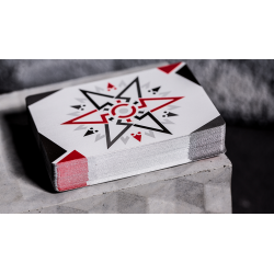 Cardistry Fanning (RED) Playing Cards wwww.magiedirecte.com