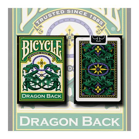 Bicycle Dragon Vert by Gamblers Warehouse wwww.magiedirecte.com