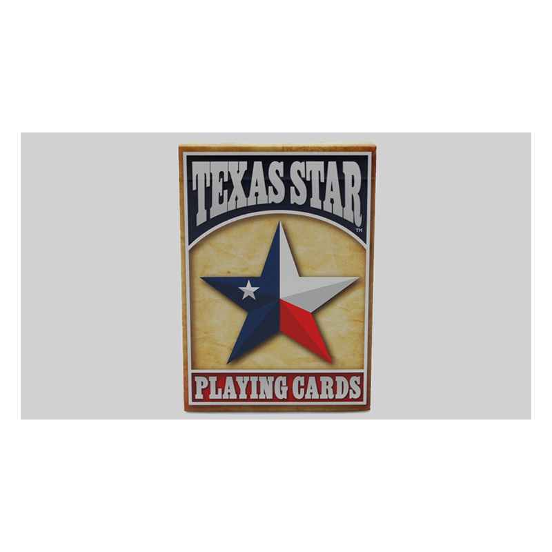 Texas Star Playing Cards by US Playing Card Co. wwww.magiedirecte.com