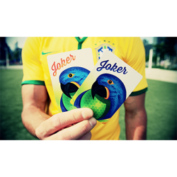 Brazil Playing Cards 2014 by The Blue Crown wwww.magiedirecte.com
