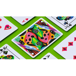 2021 Summer Collection: Jungle Playing Cards by CardCutz wwww.magiedirecte.com