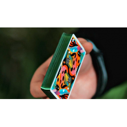 2021 Summer Collection: Jungle Gilded  Playing Cards by CardCutz wwww.magiedirecte.com