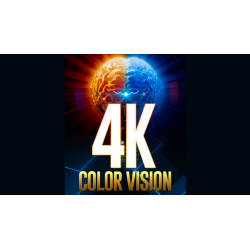 4K Color Vision Box (Gimmicks and Online Instructions) by Magic Firm - Trick wwww.magiedirecte.com