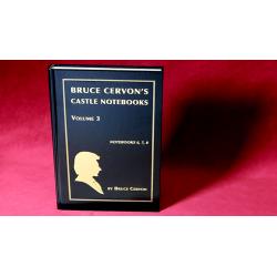 BRUCE CERVON CASTLE NOTEBOOK, VOL. 3 wwww.magiedirecte.com