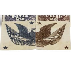 Bicycle Civil War Deck (Bleu) by US Playing Card Co - Trick wwww.magiedirecte.com