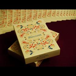 Blossom deck (Fall) Platinum Metallic Ink by Aloy Studios USPS wwww.magiedirecte.com