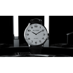 Infinity Watch V3 - Silver Case White Dial / PEN Version (Gimmick and Online Instructions) by Bluether Magic - Trick wwww.magied
