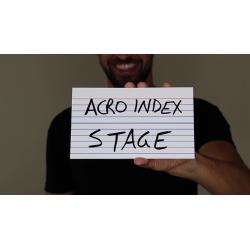 "ACRO INDEX DRY ERASE LARGE 5""x8"" wwww.magiedirecte.com"