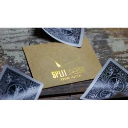 COLORED Split Cards 10 ct. (Black) by PCTC - Trick wwww.magiedirecte.com