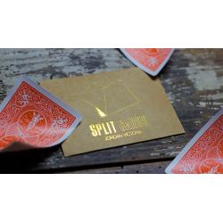 COLORED Split Cards 10 ct. (Orange) by PCTC - Trick wwww.magiedirecte.com