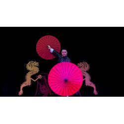 Dragon Parasol Set RED by LY & MS Magic - Trick wwww.magiedirecte.com