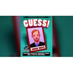 Guess by Jamie Daws and Kaymar Magic - Trick wwww.magiedirecte.com