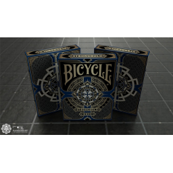 Bicycle Stronghold Sapphire Playing Cards wwww.magiedirecte.com