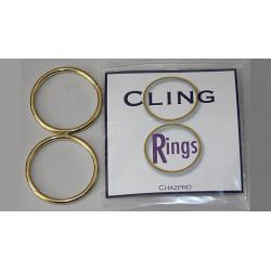 CLING RINGS by Chazpro Magic - Trick wwww.magiedirecte.com