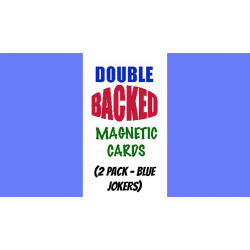 Magnetic Cards (2 pack/Blue Jokers) by Chazpro Magic - Trick wwww.magiedirecte.com
