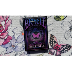 Bicycle Butterfly (Purple) Playing Cards wwww.magiedirecte.com