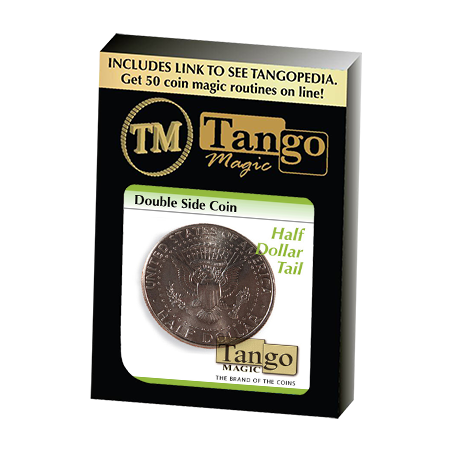 Double Side Half Dollar (Tails)(D0077) by Tango - Trick wwww.magiedirecte.com