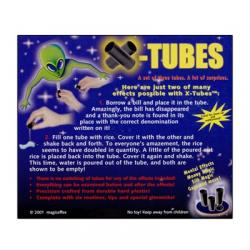 X-Tubes by Magic Effex - Trick wwww.magiedirecte.com