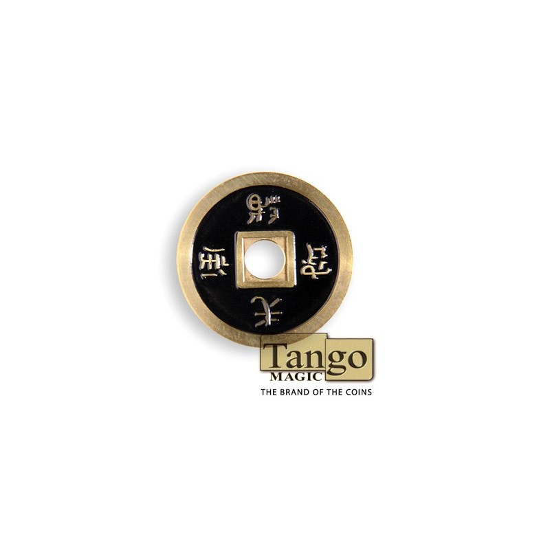 Chinese coin normal Brass Black (CH008)Tango wwww.magiedirecte.com