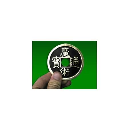 JUMBO CHINESE 3 COIN (Brass/Noir) wwww.magiedirecte.com