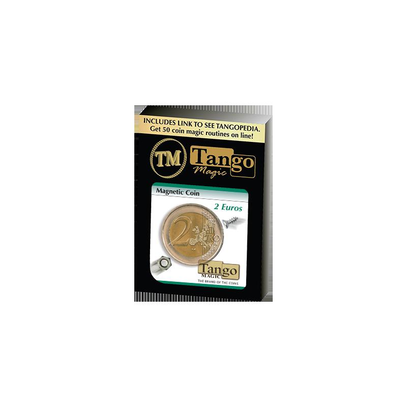 Magnetic 2 Euro coin E0021 by Tango - Trick wwww.magiedirecte.com