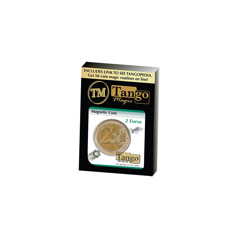 MAGNETIC COIN (2 Euro) - Tango wwww.magiedirecte.com