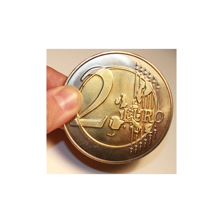 Jumbo 2 Euro Economy coin - Trick wwww.magiedirecte.com