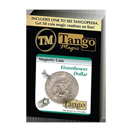 MAGNETIC COIN (Dollar) - Tango wwww.magiedirecte.com